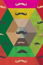 Posterhouzz Posters Posterhouzz Moustache Paper Print