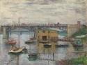 Bridge At Argenteuil By Claude Monet Fine Art Print - Medium