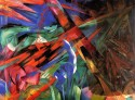 The Fate Of The Animals By Franz Marc Fine Art Print - Medium