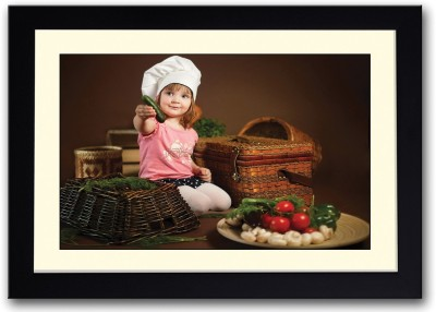 Chef Girl Fine Art Print