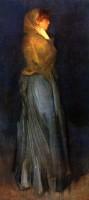 Philips Miss Rosalind Birnie Philip, Standing By Whistler Canvas Art (White)
