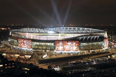 Emirates Stadium Poster Arsenal Emirates Stadium Night