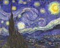 Starry Night Small By Van Gogh Canvas - Small
