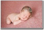 Artifa Posters Crown cute baby Fine Art Print