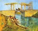 The Langlois Bridge At Arles Large By Van Gogh Fine Art Print - Large