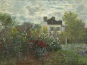 The Artist's Garden In Argenteuil (A Corner Of The Garden With Dahlias), 1873 By Claude Monet Fine Art Print - Large