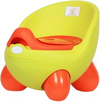 Ole Baby Adaptable Portable Chair Durable Wester Styl WC For Baby/Kids Anti Skid Material With Removable Box Potty Box (Green)