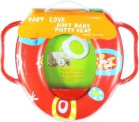 Babyofjoy Soft Baby Jolly Prints With Side Handle Potty Seat (Multicolor)