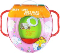 Ole Baby Soft Baby Baby Angel Prints With Side Handle Potty Seat (Multicolor)