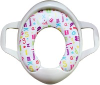 Rachna Soft Padded Toilet Training Seat 03 Potty Seat (White)