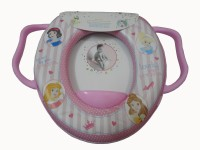 Babyofjoy Soft Baby Small Dot With Caracter Print With Handle Potty Seat (Multicolor)