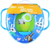 Ole Baby Soft Baby Stars Prints With Side Handle Potty Seat (Multicolor)