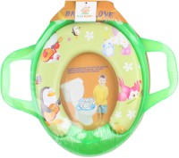 Ole Baby Jumbo Soft Cushion Guitar Penguine Potty Trainer Seat Assorted Potty Seat (Green)