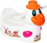 A Tsg And Sons Duck Potty Chair Potty Seat (Orange)