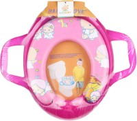 Ole Baby Jumbo Soft Cushion Baby Angel Potty Trainer Seat Assorted Potty Seat (Pink)