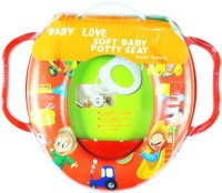 Babyofjoy Soft Baby Picnic Prints With Side Handle Potty Seat (Multicolor)