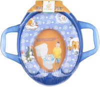 Ole Baby Jumbo Soft Cushion Sheep And Wolf Potty Trainer Seat Assorted Potty Seat (Blue)