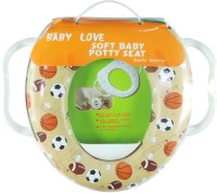 Ole Baby Soft Baby Sports Prints With Side Handle Potty Seat (Multicolor)