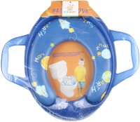 Ole Baby Jumbo Soft Cushion Universe Earth Potty Trainer Seat Assorted Potty Seat (Blue)