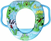 Rachna Soft Padded Toilet Training Seat 01 Potty Seat (Blue)