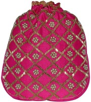 D'oro Party Favour Round (Pink) Potli Pink