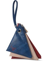 Baggit Lmp Fawn Beads Blue Mobile Pouch Blue
