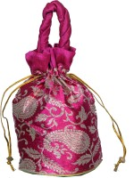 Bag Berry Pig Tail Potli - Pink Mango