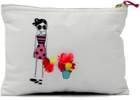 The Cranberry Club Girl's Pouch Pouch Off-White