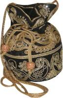 AADOO Handmade Designer Black Potli Bags Potli BLACK