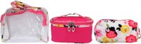 Super Drool Pink Floral Love Multiutility Pouch Pink