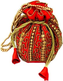 Anshul Fashion Hand Embroidered Potli Pouch