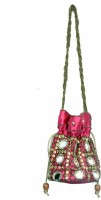 Craft Trade Craft Trade Gift Pouch Potli Bag (Pink) Potli Pink