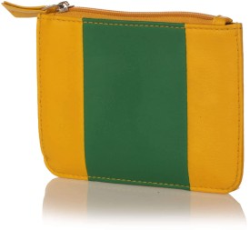 Berrypeckers Yellow Green Coin Purse