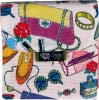 Kanvas Katha Digitally Printed Fashion Canvas Sanitary Napkin Pouch Multicolor - PPSEH6SCHKZXBZEV