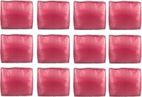 Annapurna Sales Maroon Pairasute Large Saree Cover - Set Of 12 Pcs. Pouch Maroon