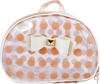Super Drool Polka Dots Pouch Beige