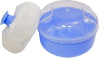 Rachna Baby 01 Premium Face & Talcum Powder Puff With Case (Blue)