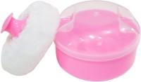 Rachna Baby 02 Premium Face & Talcum Powder Puff With Case (Pink)