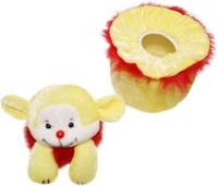 Wonderkids Teddy Baby Powder Puff (Red)