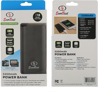 Everbest 5200mAh Power Bank