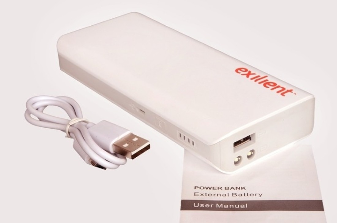 Exilient 10000mAh Power Bank