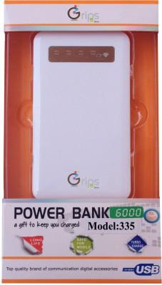 Gripsestore GLPB-WH03 6000mAh Power Bank