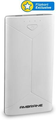 Ambrane P-2080 Power Bank 16000 mAh (White)
