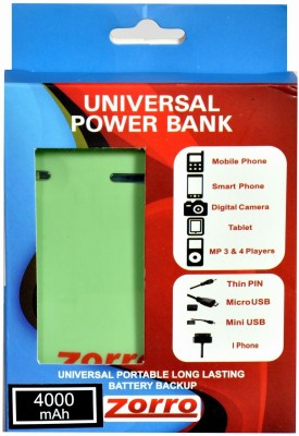 Zorro HYZD1037 4000mAh Power Bank