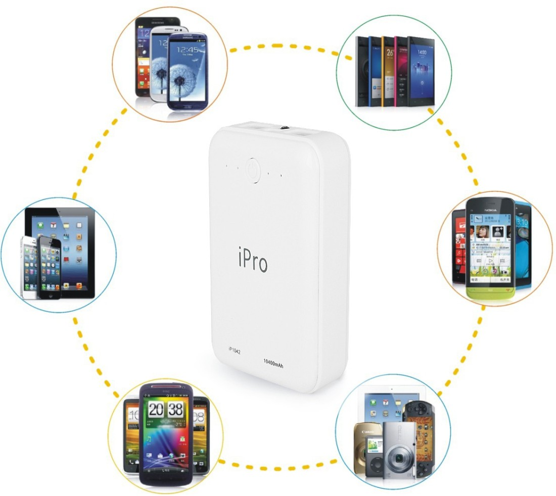 iPro IP1042 Powerbank 10400 mAh