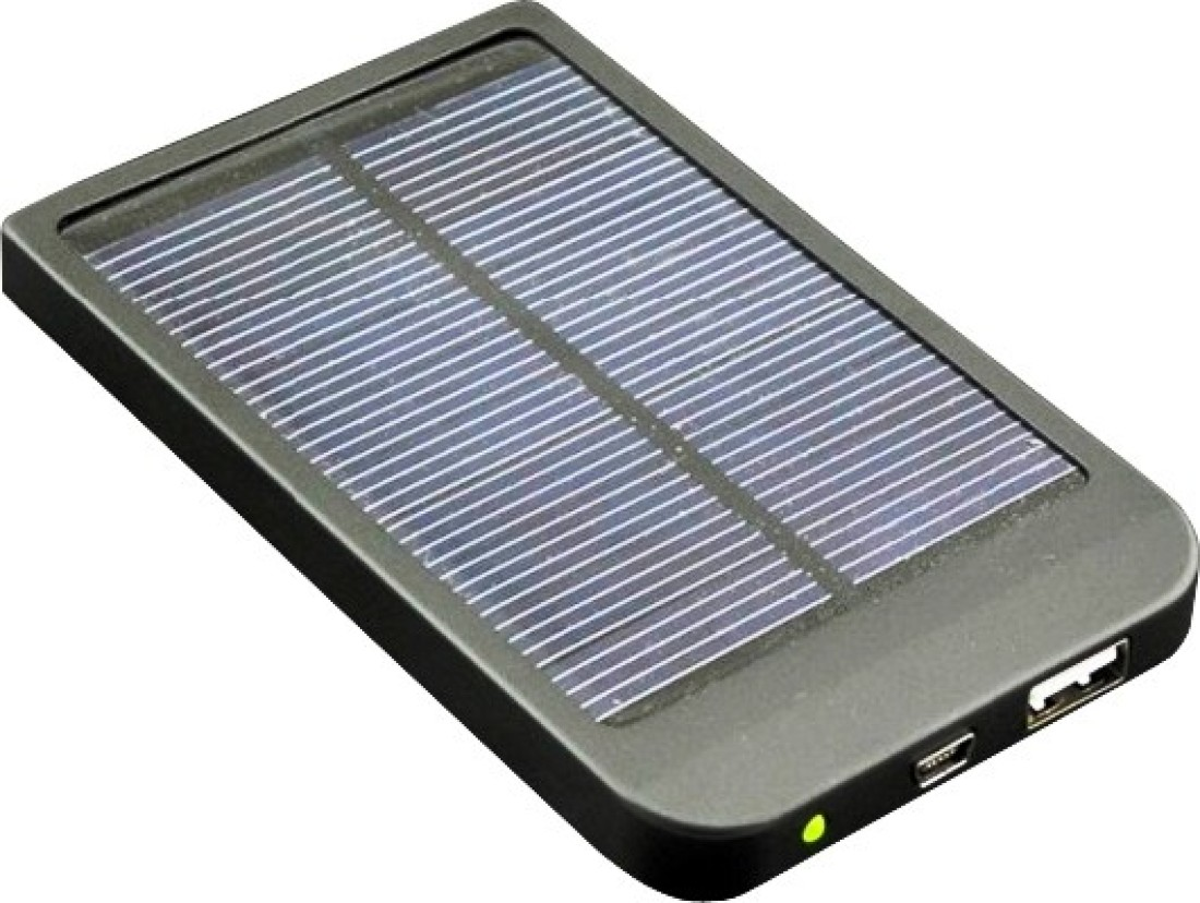 Exilient 2600mAh Solar Power Bank