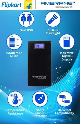Ambrane P-1500 15600 mAh Power Bank