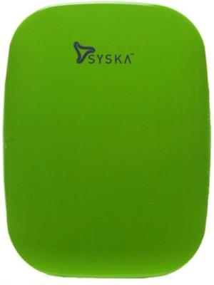 SYSKA MAGIC STONE Syska Magic Stone Power Bank::Syska 6000mah Power Bank::Syska Battery Charger Power Bank Charger 6000 mAh RED available at Flipkart for Rs.2149