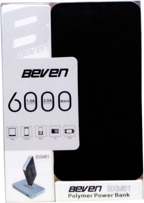Beven-6000mAh-Ultra-Slim-Power-Bank