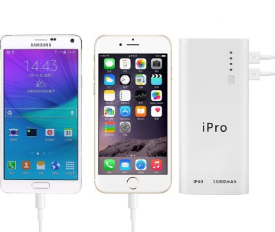 iPro iP40 Portable Powerbank 13000 mAh (White)